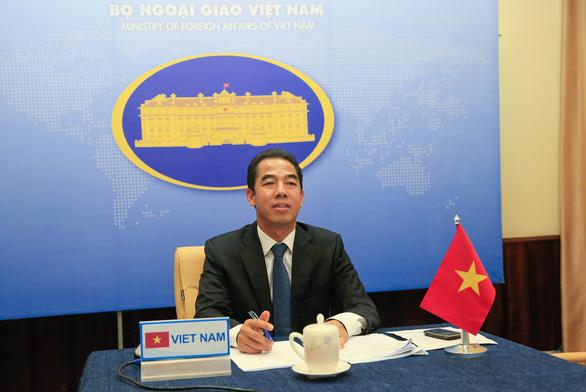Việt Nam và Anh phối hợp chặt chẽ, tôn trọng UNCLOS 1982 tại Biển Đông - Ảnh 1.