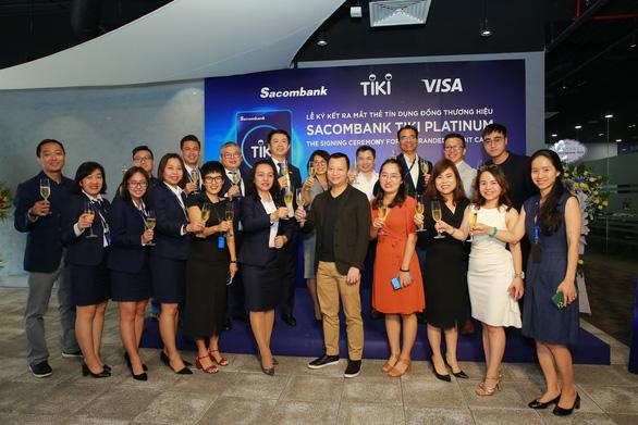 Thẻ tín dụng Sacombank Tiki Platinum - giải pháp mua sắm thông minh - Ảnh 6.