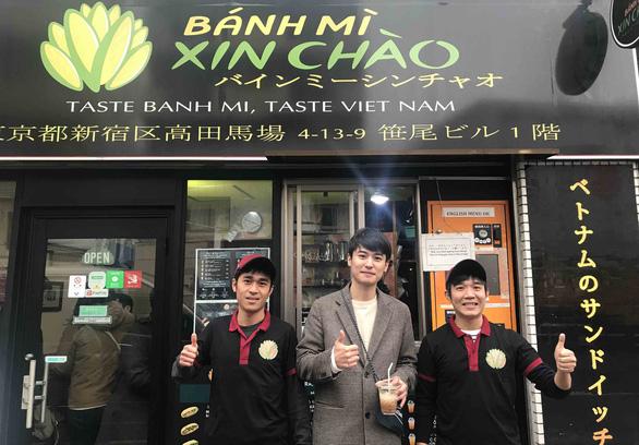 Bánh mì Xin chào của người Việt nổi danh trên nhiều kênh báo chí hàng đầu Nhật Bản - Ảnh 1.