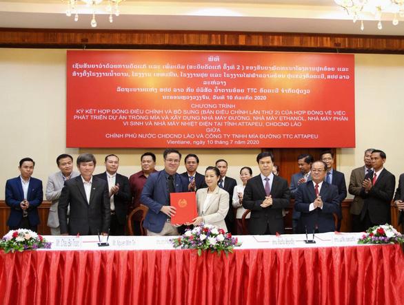 TTC Sugar tiếp tục mở rộng vùng nguyên liệu trồng mía organic tại Lào - Ảnh 1.