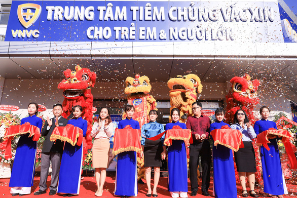 Khai trương trung tâm tiêm chủng VNVC Bình Tân - Ảnh 1.