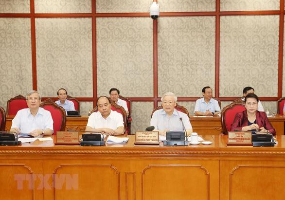 Bộ Chính trị làm việc với Ban Thường vụ Thành ủy Cần Thơ - Ảnh 1.