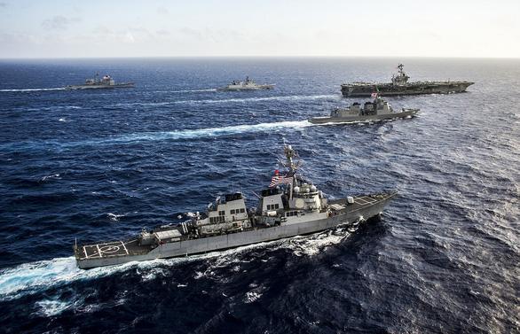 Nỗ lực chung kìm Trung Quốc ở Biển Đông - Ảnh 1.
