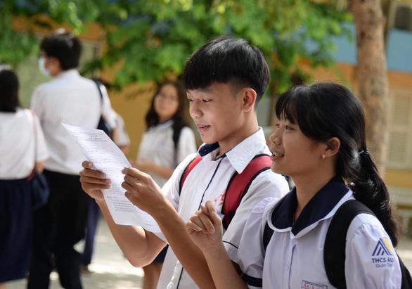 Đã có điểm thi lớp 10 TP.HCM, mời tra cứu trên Tuổi Trẻ Online - Ảnh 1.