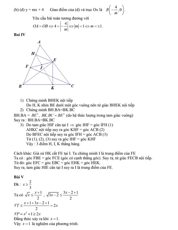Bài giải gợi ý môn toán thi lớp 10 Hà Nội - Ảnh 2.