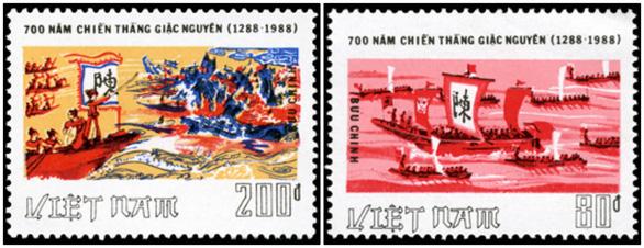 Phát hành bộ tem đặc biệt về chiến thắng Bạch Đằng năm 1288 - Ảnh 2.