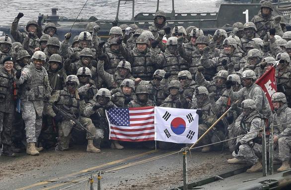 Sau Đức, ông Trump muốn rút bớt quân ở Hàn Quốc? - Ảnh 1.
