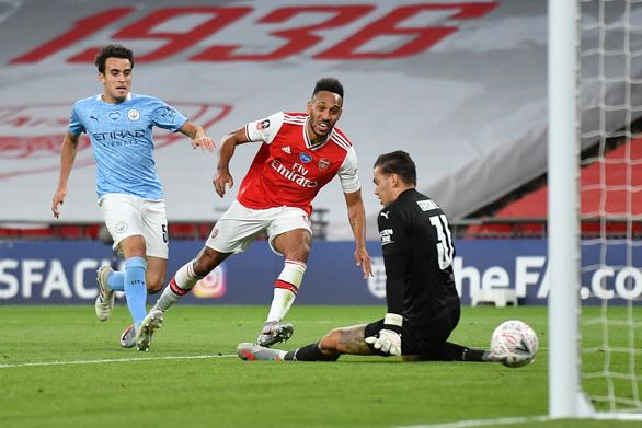 Aubameyang rực sáng, Arsenal hạ Man City vào chung kết Cúp FA - Ảnh 3.