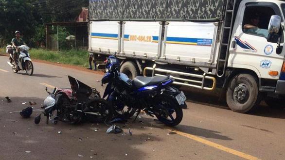 Tai nạn giao thông liên tiếp ở Bình Phước, chỉ 2 tuần 9 người thiệt mạng - Ảnh 1.