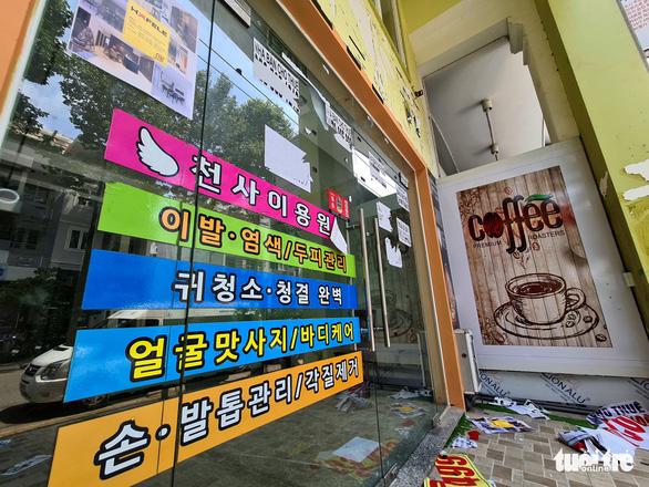 Tan tác phố Hàn Quốc ở Sài Gòn - Ảnh 5.