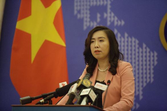 Việt Nam lên tiếng việc Mỹ xếp hạng phải theo dõi về nạn buôn người - Ảnh 1.