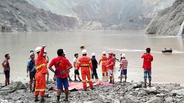 Sạt lở mỏ ngọc bích ở Myanmar, 113 người chết - Ảnh 3.