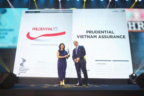 Prudential Việt Nam lần thứ 3 được vinh danh Nơi làm việc tốt nhất Châu Á - Ảnh 1.