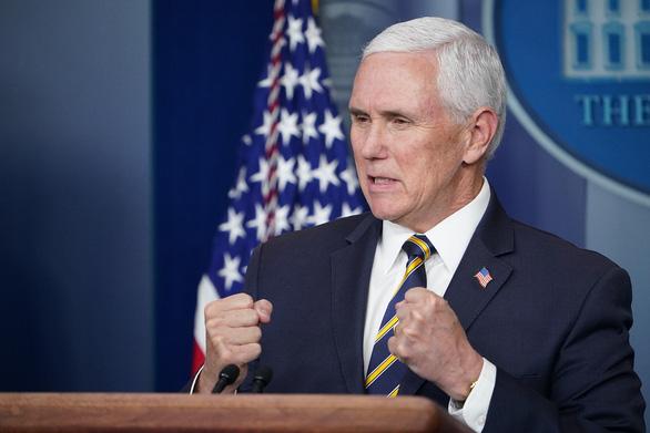Phó tổng thống Mỹ: Luật an ninh quốc gia Hong Kong phản bội thỏa thuận quốc tế - Ảnh 1.