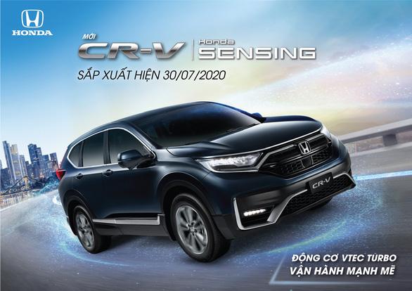 Honda CR-V phiên bản mới 2020 sắp ra mắt thị trường Việt Nam - Ảnh 1.