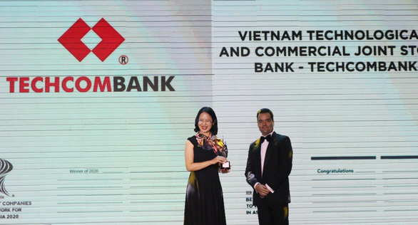 """Hr Asia Award vinh danh Techcombank """"Nơi làm việc tốt nhất Châu Á"""" - Ảnh 1."""