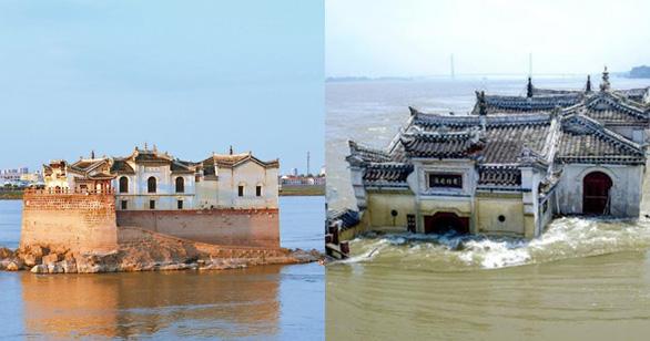 Nước hồ chứa đập Tam Hiệp cao kỷ lục, 500 di tích văn hóa ở Trung Quốc bị hư hại - Ảnh 2.