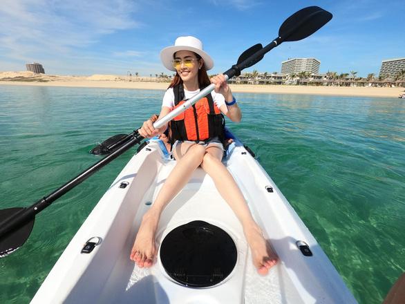 Trải nghiệm du lịch nghỉ dưỡng sang chảnh cùng hoa hậu Phan Thị Mơ - Ảnh 3.