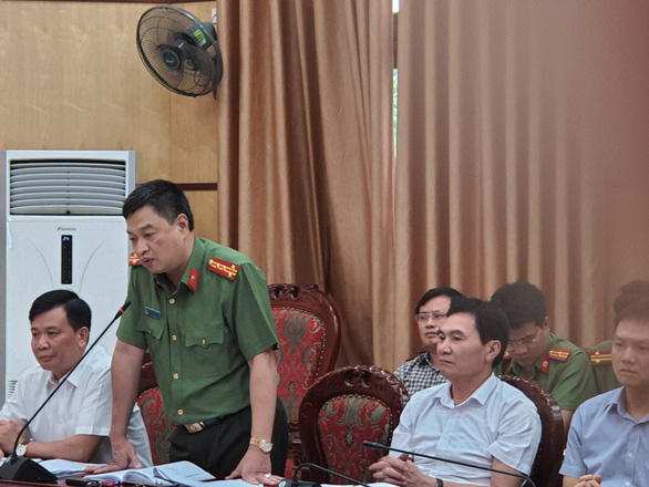 Khởi tố 2 phóng viên tống tiền phó chủ tịch thị xã Nghi Sơn - Ảnh 1.