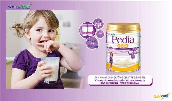 Pedia Gold (Wincofood) – Mẹ hết nỗi lo trẻ biếng ăn - Ảnh 1.