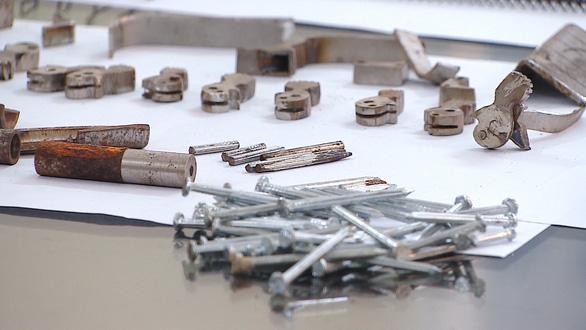 Triệt phá xưởng làm súng quy mô lớn ở Hải Phòng - Ảnh 2.