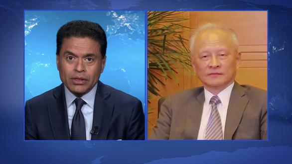 Đại sứ Trung Quốc: Mỹ có đồng ý chung sống hòa bình với Trung Quốc không? - Ảnh 1.