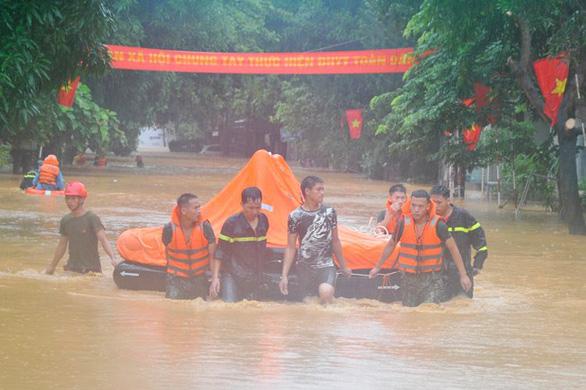 Đã có 5 người chết do mưa lũ ở Hà Giang - Ảnh 1.