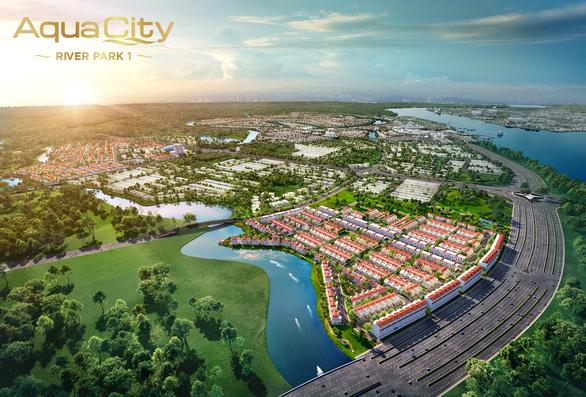 Hạ tầng bứt phá, giới đầu tư đón đầu cơ hội lớn ở phân khu cửa ngõ River Park 1 đô thị Aqua City - Ảnh 3.