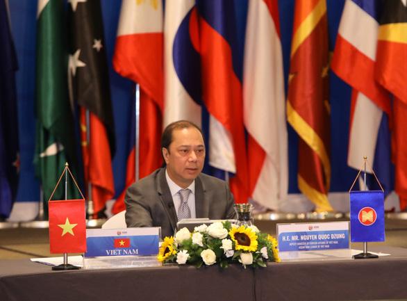 Nhiều nước quan ngại việc quân sự hóa, quấy rối hoạt động kinh tế ở Biển Đông - Ảnh 1.