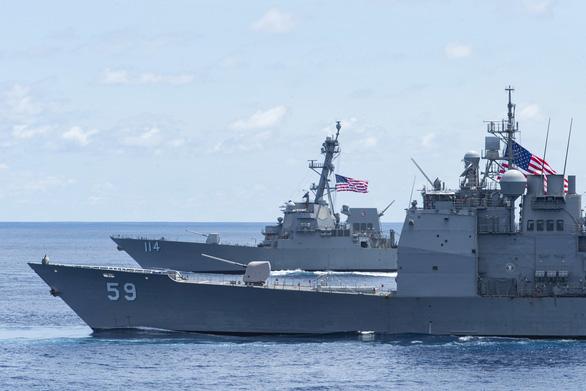 Bộ trưởng quốc phòng Mỹ: Trung Quốc không có quyền biến vùng biển quốc tế thành của riêng họ - Ảnh 2.
