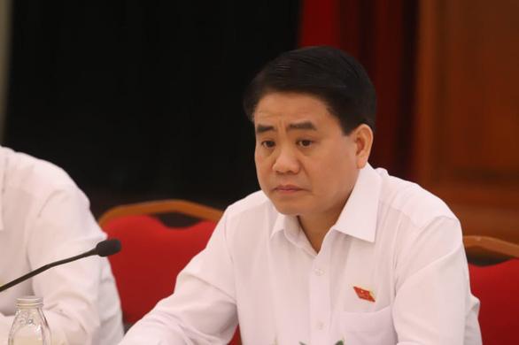 Khởi tố, bắt tạm giam chủ tịch Hà Nội Nguyễn Đức Chung - Ảnh 1.
