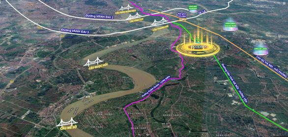 Hà Nội xây loạt cầu vượt sông Hồng, đánh thức tiềm năng khu Đông - Ảnh 2.