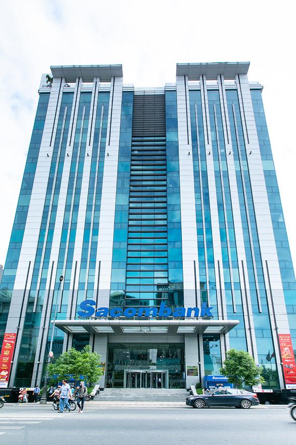 Lợi nhuận trước thuế 6 tháng của Sacombank đạt hơn 1.400 tỉ đồng - Ảnh 1.