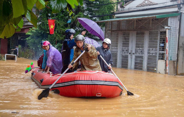 Vùng cao Hà Giang, Đà Lạt cũng ngập, vì sao? - Ảnh 1.