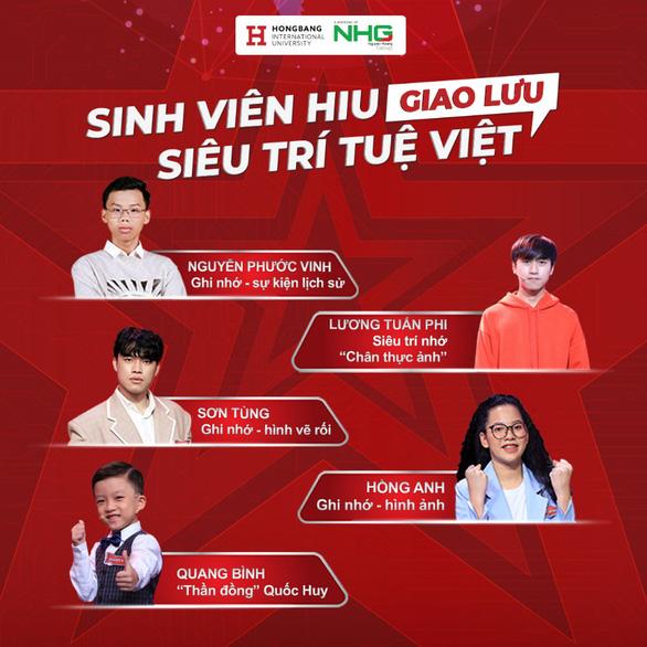 Biệt đội Siêu trí tuệ Việt giao lưu cùng sinh viên HIU - Ảnh 1.