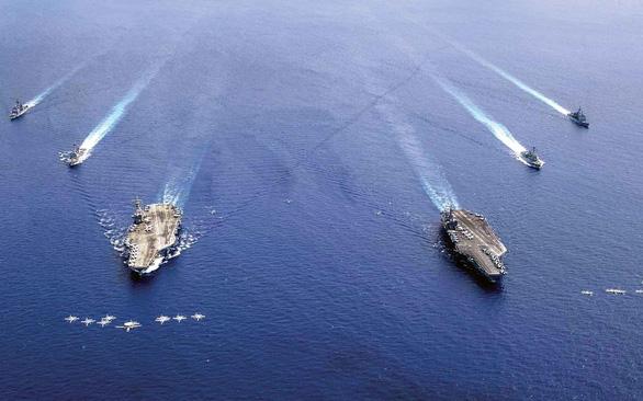 Những cuộc tập trận trên Biển Đông Tôi đã đến đây như thế đấy - Ảnh 1.