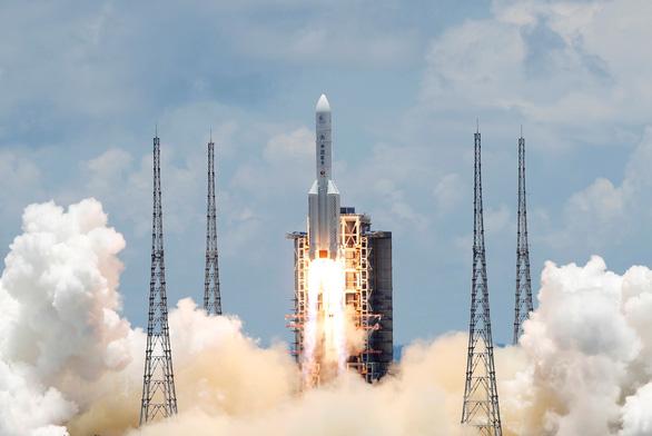 Trung Quốc phóng tàu vũ trụ Thiên Vấn 1 lên sao Hỏa - Ảnh 1.