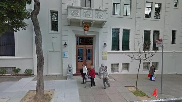 Nhà nghiên cứu nghi là gián điệp đang trốn trong lãnh sự quán Trung Quốc ở San Francisco - Ảnh 1.