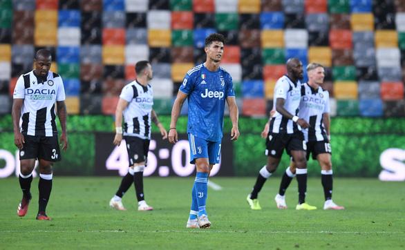 Thua sốc Udinese, Ronaldo và đồng đội lỡ cơ hội vô địch sớm - Ảnh 2.