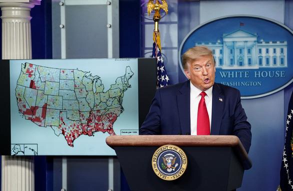 Ông Trump hủy tổ chức đại hội Đảng Cộng hòa ở Florida do COVID-19 - Ảnh 1.