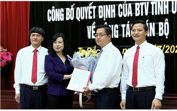 Tân bí thư Thành ủy Bắc Ninh được điều về làm phó giám đốc sở - Ảnh 1.