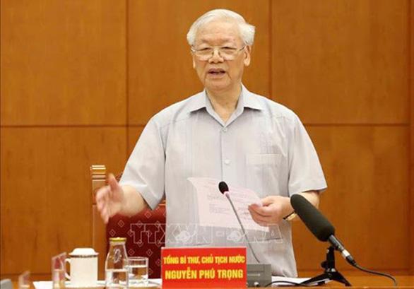 Tổng bí thư, Chủ tịch nước chỉ đạo tập trung xử lý 9 vụ án trọng điểm - Ảnh 1.