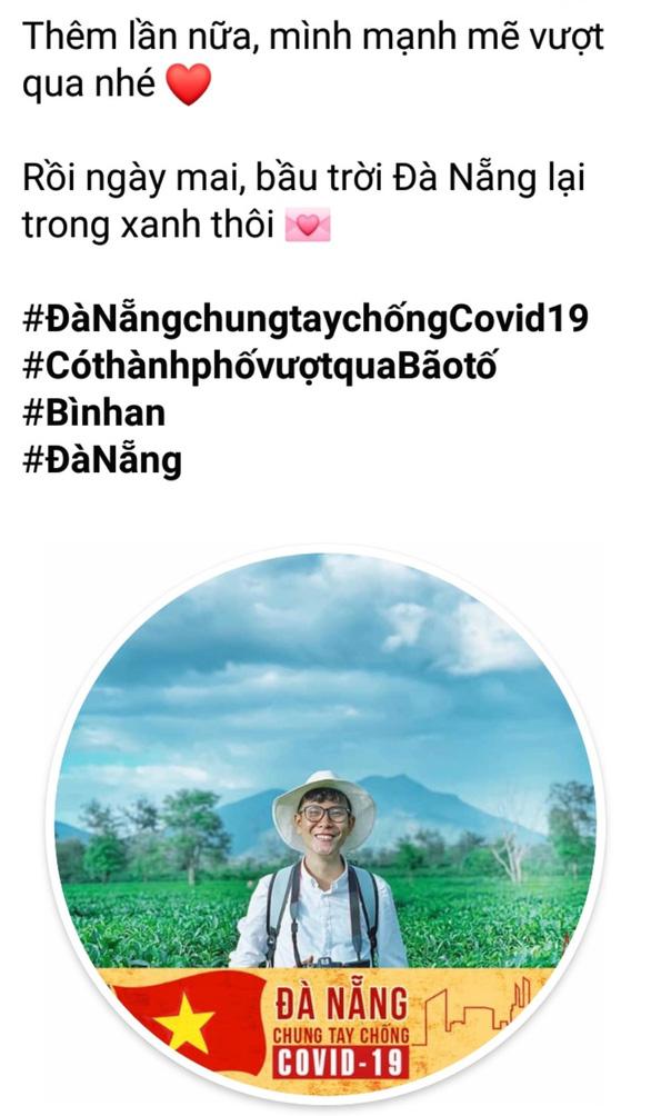 Người Đà Nẵng thay avatar, động viên nhau vượt qua COVID-19 - Ảnh 2.