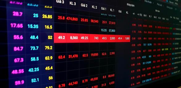 Giá giảm mạnh, chứng khoán kích hoạt bán tháo - Ảnh 2.