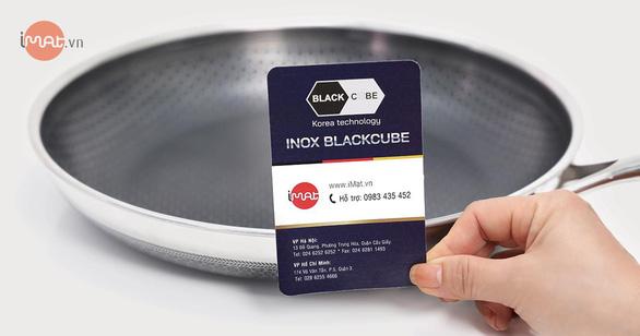 3 lý do bạn nên chọn chảo inox iMat Blackcube - Ảnh 5.