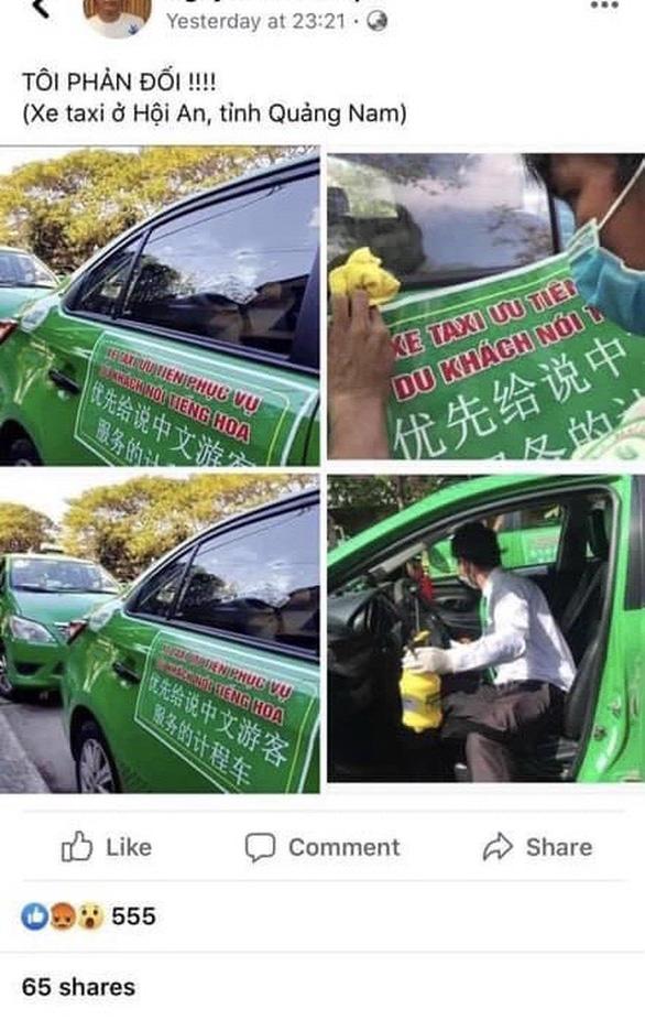 Mai Linh bị tung tin lập đội taxi phục vụ khách nói tiếng Hoa - Ảnh 1.