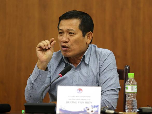 Ông Dương Văn Hiền: Tôi chỉ là người chấp bút bản phân công trọng tài - Ảnh 1.