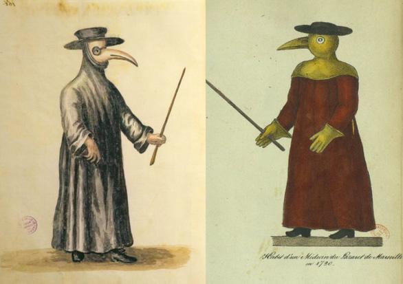 Tại sao bác sĩ tham gia chữa dịch hạch lại mặc đồ đen mang mặt nạ mỏ chim? - Ảnh 4.