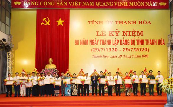 Kỷ niệm 90 năm ngày thành lập Đảng bộ tỉnh Thanh Hóa - Ảnh 3.