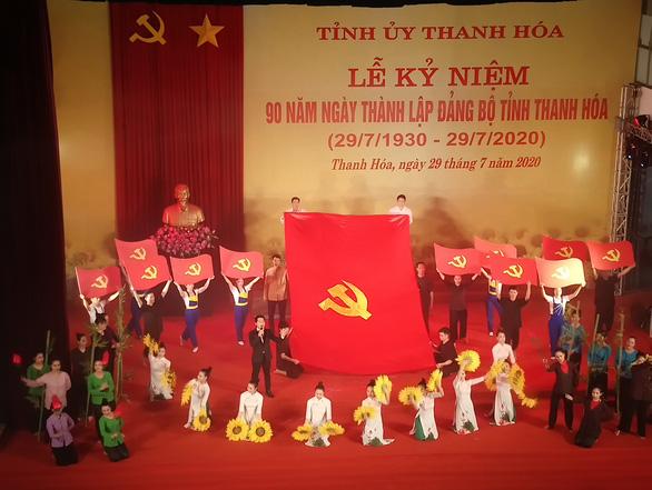 Kỷ niệm 90 năm ngày thành lập Đảng bộ tỉnh Thanh Hóa - Ảnh 2.